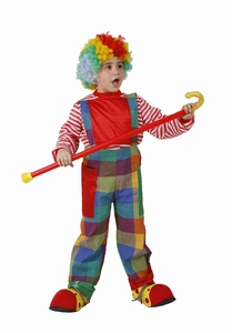 Deguisement costume Clown salopette 5-6 ans