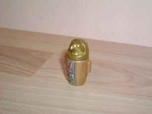 Vase égyptien doré faucon