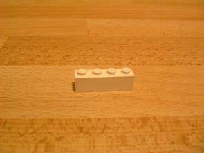 Brique 4 picots 1x4