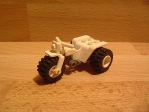 Quad blanc