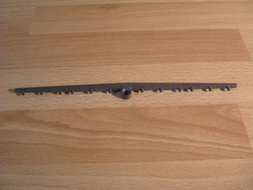 Barre gris foncé pour voile centrale