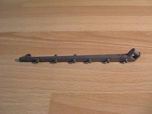 Barre haute gris foncé pour voile arrière