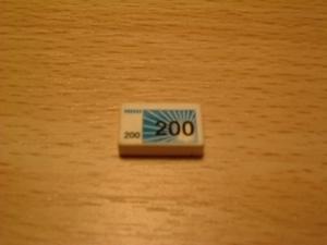 Billet 200 euros