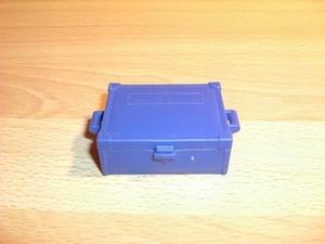 Caisse bleue