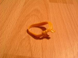 Ceinture étoffe orange Neuve