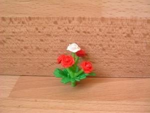 Bouquet 5 roses Neuf
