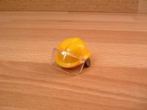 Casque de pompier jaune Neuf
