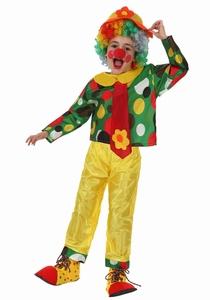 Deguisement costume Clown cravate 5-6 ans
