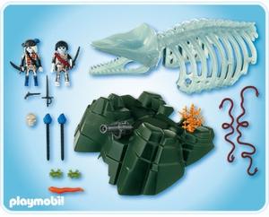 Squelette baleine et pirate fantome playmobil 4803 - Playmobil pirate fantome ...
