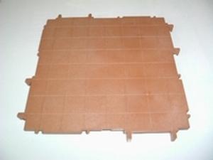 Plancher carré grand modèle