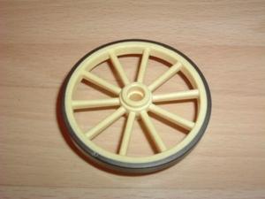 Roue crème 5,5 cm