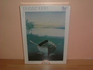 Puzzle 1000 pièces Grey boat Neuf