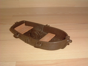 Barque marron grand modèle