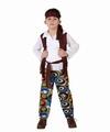 Deguisement costume Hippie garçon 10-12 ans