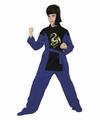 Deguisement costume Ninja dragon bleu 7-9 ans