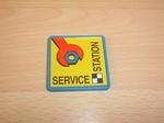 Panneau Station Service
