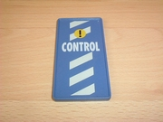 Panneau Control bleu