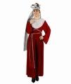 Deguisement costume Reine médiévale rouge  XS-S