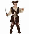 Deguisement costume Pirate marron 10-12 ans