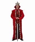 Deguisement costume Roi rouge
