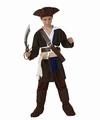 Deguisement costume Pirate corsaire 7-9 ans