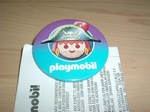 Badge  Playmobil Pirate neuf