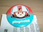 Badge Playmobil Pompier neuf