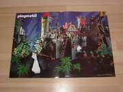 Poster playmobil  Chateau chevalier