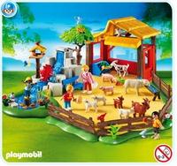 Playmobil Parc animalier avec famille 4851