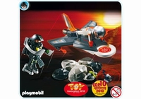 Playmobil Jet de détection des agents secrets 4877