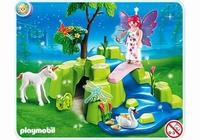 Playmobil Compactset Jardin de fée avec licorne 4148