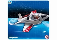 Playmobil Avion à réaction à emporter 4342