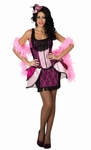 Deguisement costume Danseuse Cabaret rose