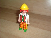 Clown chapeau jaune