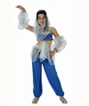Deguisement costume Danseuse orientale Jasmine bleue 7-9 ans