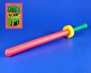 Epée sabre caoutchouc mousse 71 cm