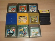 Lot 10 jeux de Game Boy