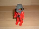 Cosmonaute rouge