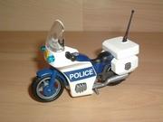 Moto de police neuve