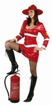 Deguisement costume Pompier Femme