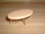 Table basse moderne beige