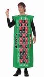 Deguisement costume Tapis vert roulette casino
