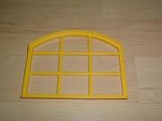 Grande fenêtre jaune