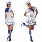 Deguisement costume Marin femme blanc
