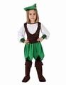 Deguisement costume Fille des bois 10-12 ans
