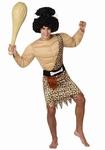 Deguisement costume Homme des cavernes musclé  XL