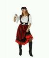 Deguisement costume Pirate jupe longue  XL