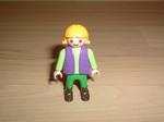 Enfant gilet violet