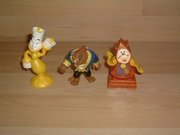 Lot figurines La Belle et la Bête