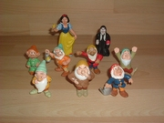 Lot figurines Blanche neige et les 7 nains